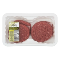 Nature's Promise Naturals Laura's Lean Ground Beef Patties - 4 ct Fresh