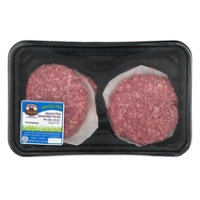 Spring Crossing Cattle Co. Ground Beef Patties 90% Grass-fed - 4 ct Fresh