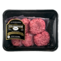 Steakhouse Elite Ground Beef Sliders Kobe Crafted