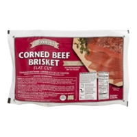 O'Donnell's USDA Choice Corned Beef Brisket Flat Cut Fresh