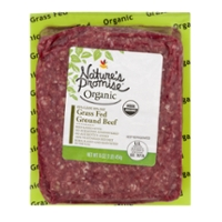 Nature's Promise Organic Ground Beef Grass-fed Fresh
