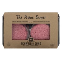 Schweid & Sons Ground Beef Burger The Prime - 4 ct Fresh