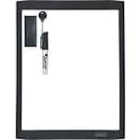 "Quartet® Dry-Erase Board, Shorty Marker Included, Assorted Color Frame, 8 1/2""W x 11""H (85114)"