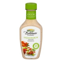 Bolthouse Farms Yogurt Dressing Salsa Ranch All Natural