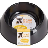 Bowlmates Black Round Base, 0.75 Cup
