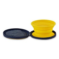 Cabana Bay Zip And Sip Travel Dog Bowl, 3 cup