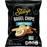 Stacy's Baked Bagel Chips Simply Naked Non-GMO