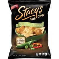 Stacy's Pita Chips Fire Roasted Jalapeno Non-GMO