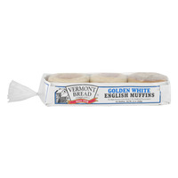 Vermont Bread Co. English Muffins Golden White - 6 ct