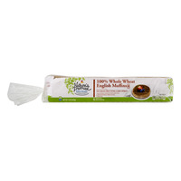 Nature's Promise English Muffins Whole Wheat Ready Split - 6 ct