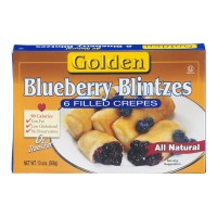 Golden Blintzes Blueberry All Natural - 6 ct Frozen