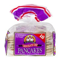 De Wafelbakkers Pancakes Chocolate Chip - 18 ct