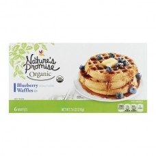 Nature's Promise Waffles Blueberry Organic - 6 ct