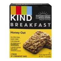 KIND Breakfast Bars Honey Oat - 4 ct