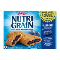 Kellogg's Nutri-Grain Soft Baked Breakfast Bars Blueberry - 8 ct