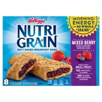 Kellogg's Nutri-Grain Soft Baked Breakfast Bars Mixed Berry - 8 ct