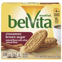 Nabisco belVita Breakfast Biscuits Cinnamon Brown Sugar - 5 ct