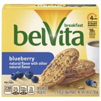 Nabisco belVita Breakfast Biscuits Blueberry - 5 ct