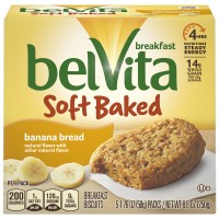 Nabisco belVita Soft Baked Breakfast Biscuits Banana Bread - 5 ct