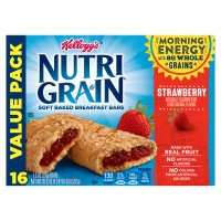 Kellogg's Nutri-Grain Soft Baked Breakfast Bars Strawberry - 16 ct