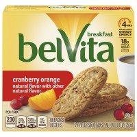 Nabisco belVita Breakfast Biscuits Cranberry Orange - 5 ct