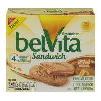 Nabisco belVita Breakfast Sandwich Peanut Butter - 5 ct