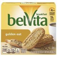 Nabisco belVita Breakfast Biscuits Golden Oat - 5 ct