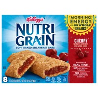Kellogg's Nutri-Grain Soft Baked Breakfast Bars Cherry - 8 ct