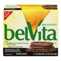 Nabisco belVita Breakfast Biscuits Chocolate - 5 ct