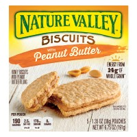Nature Valley Biscuits with Peanut Butter - 5 ct