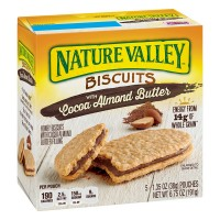 Nature Valley Breakfast Biscuits Cocoa Almond Butter - 5 ct