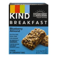 KIND Breakfast Bars Blueberry Almond - 4 ct