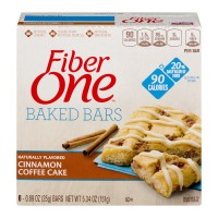 Fiber One 90 Calorie Bars Cinnamon Coffee Cake - 6 ct