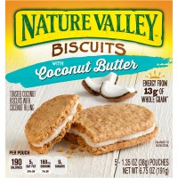 Nature Valley Breakfast Biscuits Coconut Butter - 5 ct