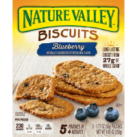Nature Valley Breakfast Biscuits Blueberry - 5 ct