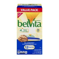 Nabisco belVita Breakfast Biscuits Blueberry - 12 ct