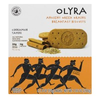 Olyra Ancient Greek Grains Breakfast Biscuits Cinnamon Tahini - 4 ct