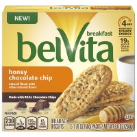 Nabisco belVita Honey Chocolate Chip Breakfast Biscuits - 5 ct