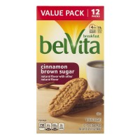 Nabisco belVita Breakfast Biscuits Cinnamon Brown Sugar - 12 ct