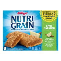Kellogg's Nutri-Grain Soft Baked Breakfast Bars Apple Cinnamon - 8 ct