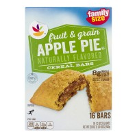 Stop & Shop Fruit & Grain Cereal Bars Apple Pie - 16 ct