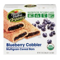 Health Valley Multigrain Cereal Bars Blueberry Cobbler Organic - 6 ct