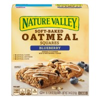 Nature Valley Soft-Baked Oatmeal Squares Blueberry - 6 ct