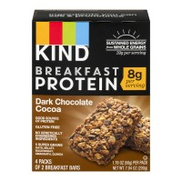 KIND Breakfast Protein Bar Dark Chocolate Cocoa - 4 ct