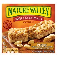 Nature Valley Sweet & Salty Nut Granola Bars Peanut - 6 ct