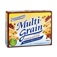 Entenmann's Multigrain Cereal Bars Chocolate Chip - 8 ct