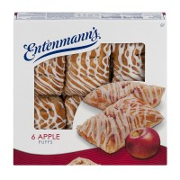 Entenmann's Pastry Puffs Apple - 6 ct