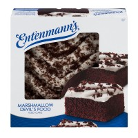 Entenmann's Cake Marshmallow Iced Devil's Food