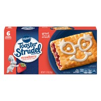 Pillsbury Toaster Strudel Pastries Strawberry - 6 ct