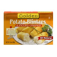 Golden Blintzes Potato All Natural - 6 ct Frozen